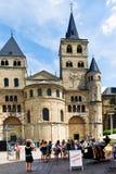 特里尔主教座堂,德国 库存图片