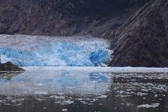 特雷西胳膊海湾-冰川 免版税库存图片