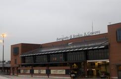 特雷维索机场 免版税库存照片