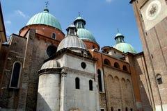 特雷维索,意大利:中央寺院(大教堂) 免版税库存照片