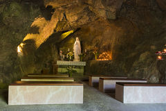 特雷维索Caglieron洞的基督教会 免版税库存图片