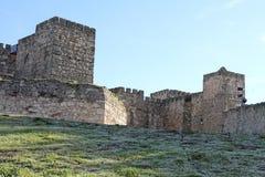 特鲁希略角,卡塞里斯省,埃斯特雷马杜拉,西班牙 免版税图库摄影