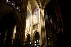 特鲁瓦大教堂  库存图片