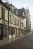 特鲁瓦老镇  库存照片