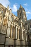 特鲁罗大教堂,康沃尔郡,英国 免版税库存照片