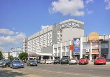 特维尔 旅馆伏尔加河 图库摄影