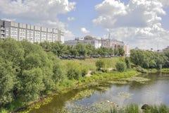 特维尔 河Tmaka 免版税库存图片