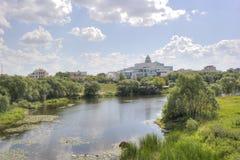 特维尔 河Tmaka 库存图片