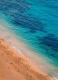 彻特d'Azur海岸线Azur视图  库存照片