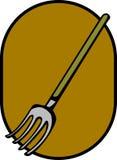 犁耙工具向量 免版税库存图片