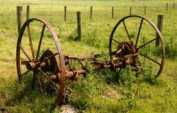 犁轮子 库存图片