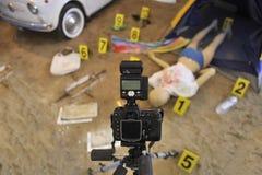 犯罪现场 免版税图库摄影