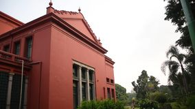 状态中央图书馆,班加罗尔,卡纳塔克邦,印度 影视素材