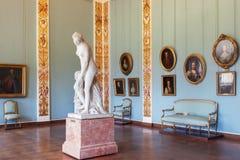 状态俄国博物馆的内部在圣彼得堡,俄罗斯 库存图片