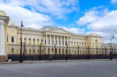 状态俄国博物馆Mikhailovsky宫殿,圣彼德堡,俄罗斯 免版税图库摄影