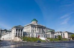 状态俄国图书馆老大厦, 免版税库存图片