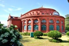 状态公立图书馆,班格洛 库存照片