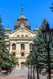 状态剧院, Košice,斯洛伐克 免版税图库摄影