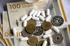状态和药房达成了医学协议 免版税库存图片