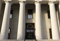 状态国会大厦在哥伦布俄亥俄 免版税库存图片