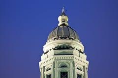 状态国会大厦大厦在塞恩,怀俄明 免版税库存照片