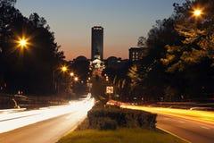 状态国会大厦大厦在Tallahassee 免版税库存图片
