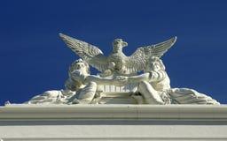 从状态国会大厦的细节 库存图片