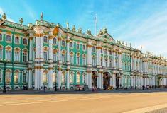 状态埃尔米塔日博物馆在圣彼得堡 图库摄影