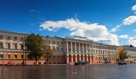 状态教学大学。 Nizhny Novgorod 库存图片