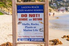 状态海洋储备警报信号 免版税库存照片