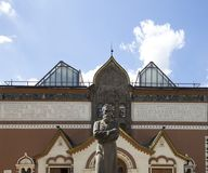 状态特列季尤欣画廊是美术画廊在莫斯科,俄罗斯,首要存放处俄国艺术在世界上 免版税库存照片