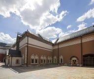 状态特列季尤欣画廊是美术画廊在莫斯科,俄罗斯,首要存放处俄国艺术在世界上 免版税图库摄影