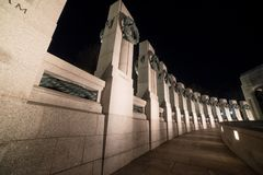 状态的看法在WWII纪念品的 图库摄影
