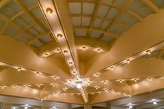 犹他国家资本大厦的盛大天花板 库存照片