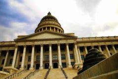 犹他状态国会大厦盐湖城 免版税库存照片