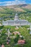 犹他状态国会大厦,盐湖城,美国 免版税图库摄影