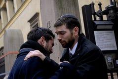 犹太人男性舒适一和其他 免版税库存图片