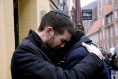 犹太人男性舒适一和其他 免版税图库摄影