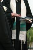 犹太人的婚礼 免版税库存照片