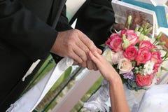 犹太人的婚礼 免版税库存图片
