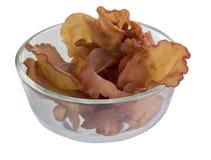 犹太人的耳朵蘑菇 库存图片