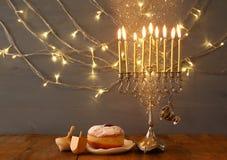 犹太假日光明节背景的图象