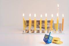 犹太光明节的节假日 免版税库存图片