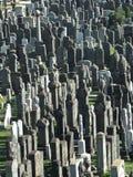 犹太公墓在布鲁克林 免版税库存图片