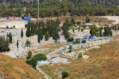 犹太公墓,采法特,上部内盖夫加利利,以色列 免版税库存图片