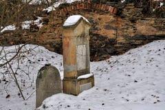 犹太公墓 图库摄影