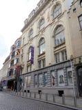 犹太博物馆在布鲁塞尔,比利时 库存照片