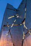 犹太博物馆的门面的建筑细节在柏林,德国 库存照片