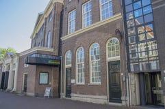 犹太历史博物馆阿姆斯特丹的入口荷兰 库存照片
