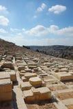 犹太古老的墓地 库存图片